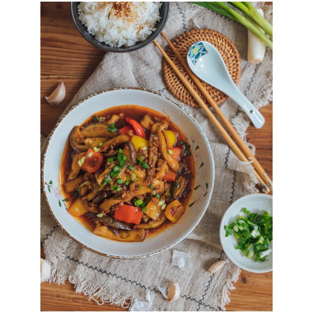 跟著中餐廳學做菜|魚香茄子煲,無敵下飯