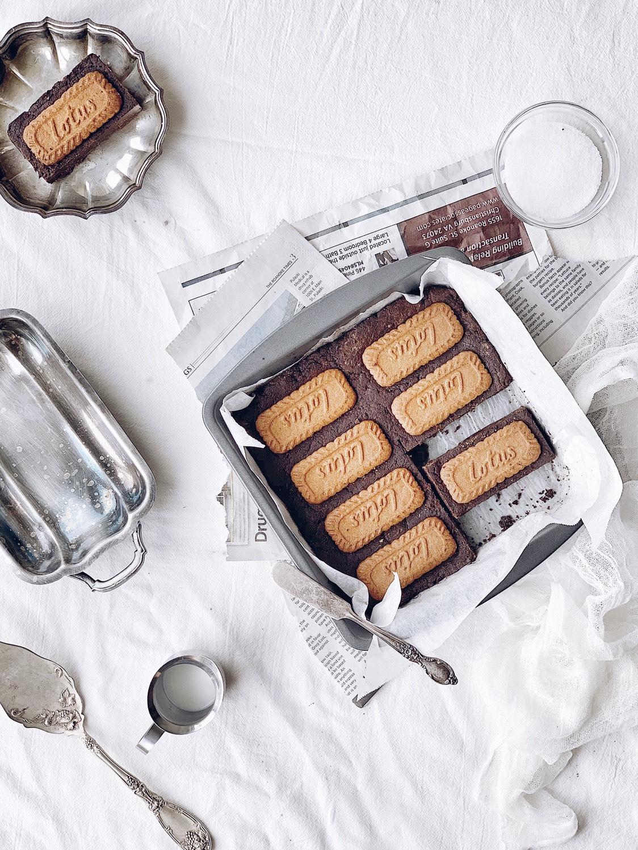 ㊙️巧克力控必入‼️零失误的焦糖饼干布朗
