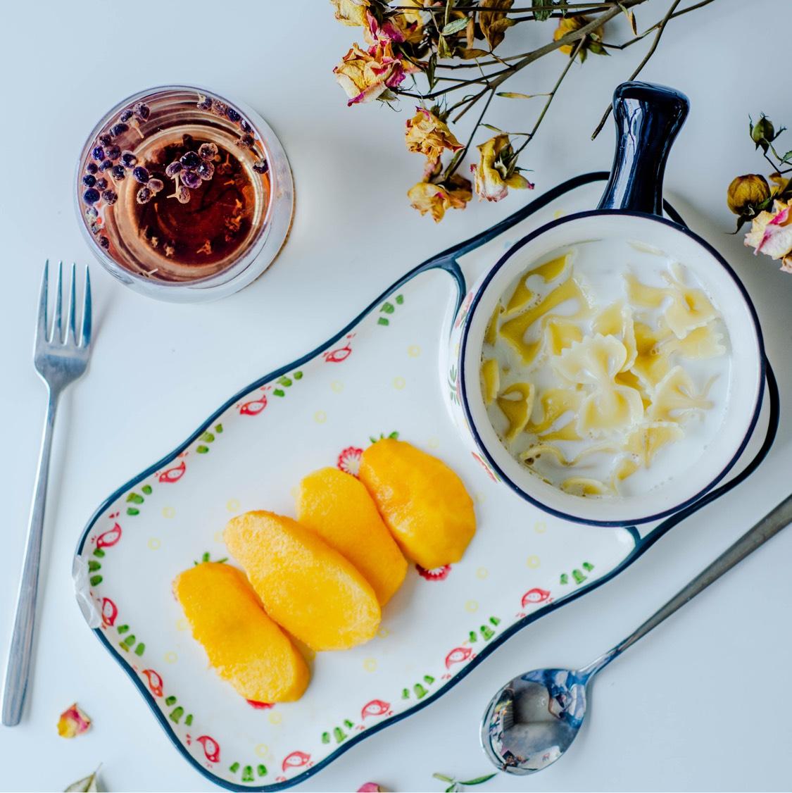 Day16减脂早餐 水果:蟠桃主食