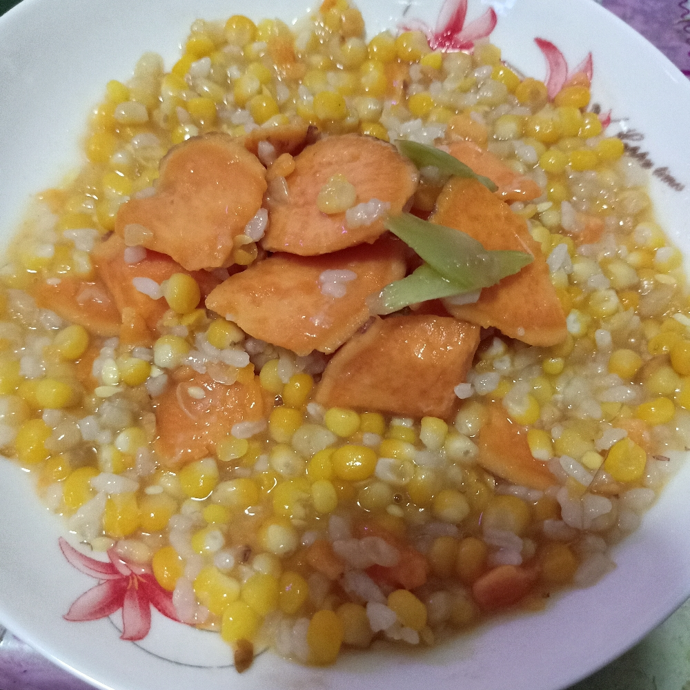 玉米红薯粥 🌽🍠
