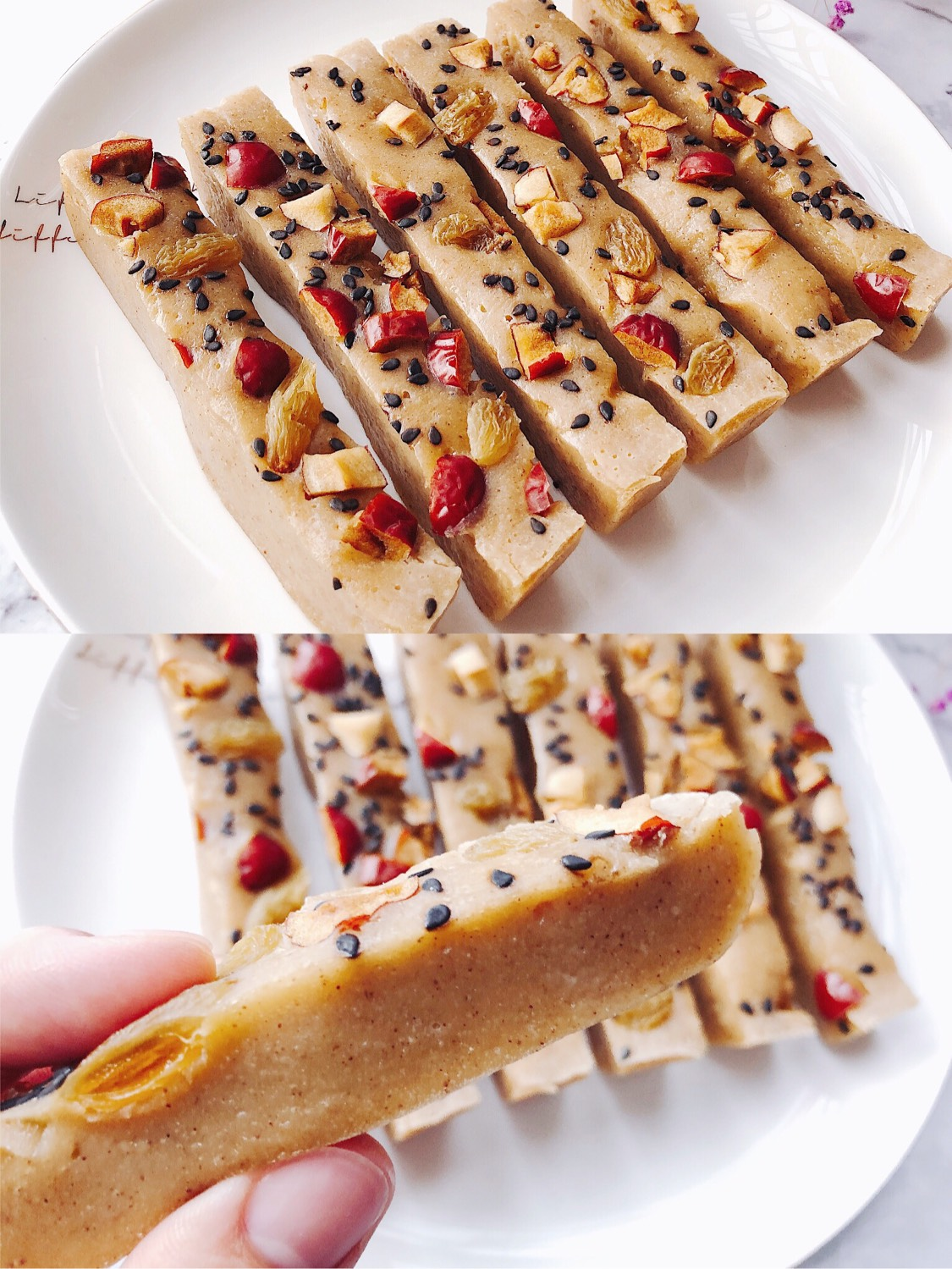 软糯香甜的红豆薏米糕❗️材料搅一搅就能