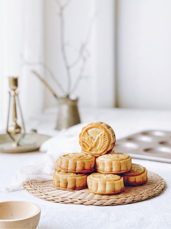 中秋爆款🔥金沙奶黄月饼详细教程‼️好吃