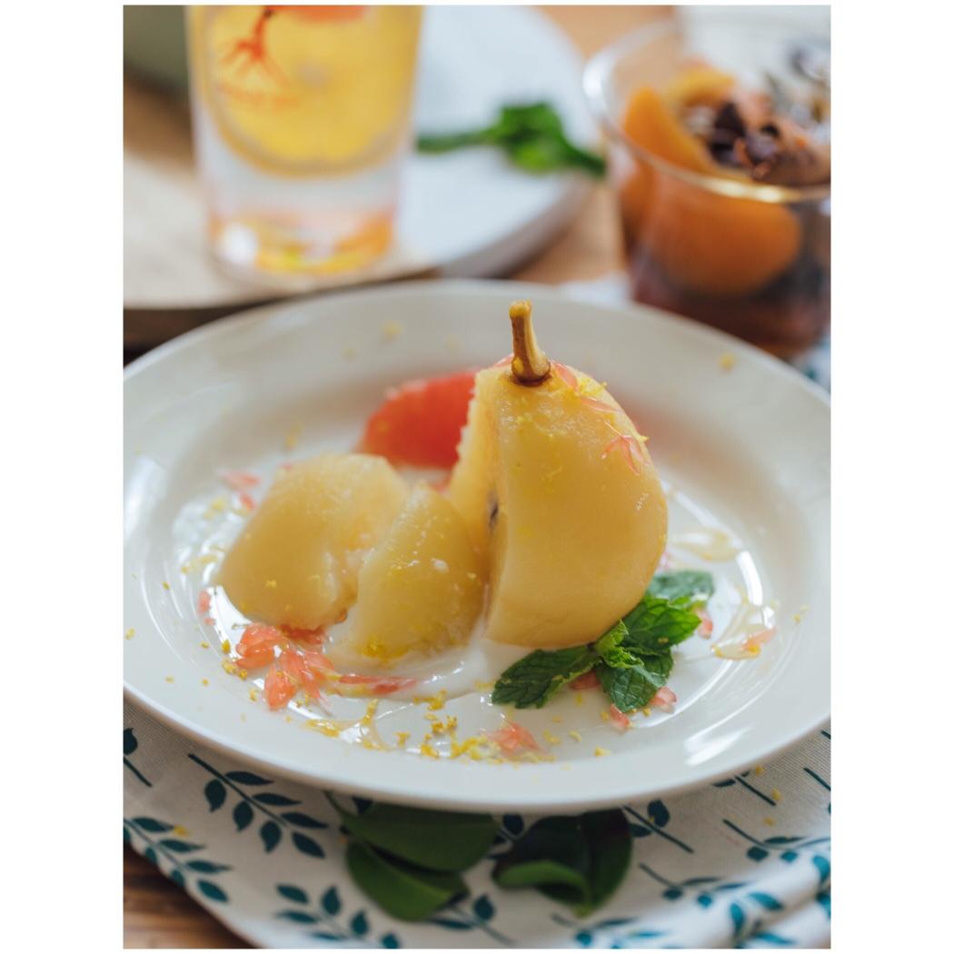七夕专属,中餐厅同款美食—青柠酸沁天使梨